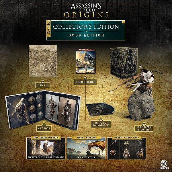 Assassins Creed Origins Gods Collector's Edition – PS4