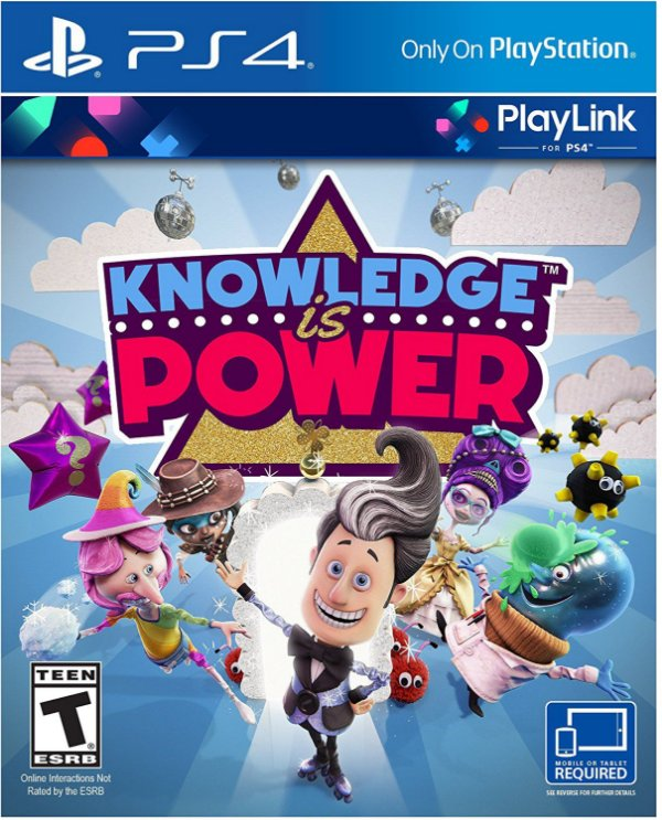 Knowledge is Power PlayLink Conhecimento é Poder - PS4