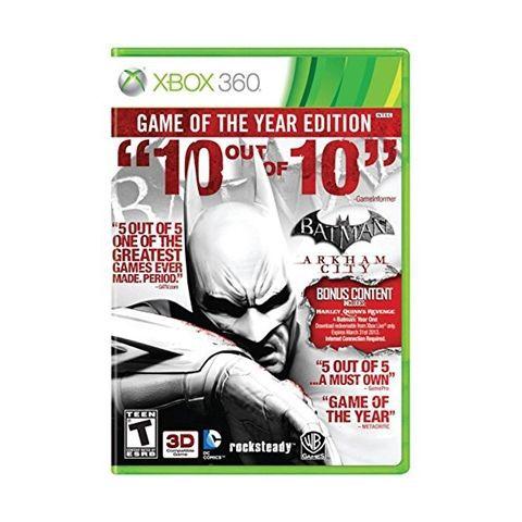 Batman Arkham City Game of the Year Edition - Xbox 360