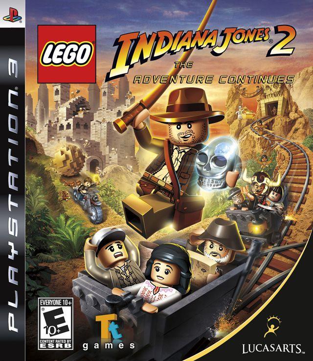 Lego Indiana Jones 2 The Adventure Continues - PS3