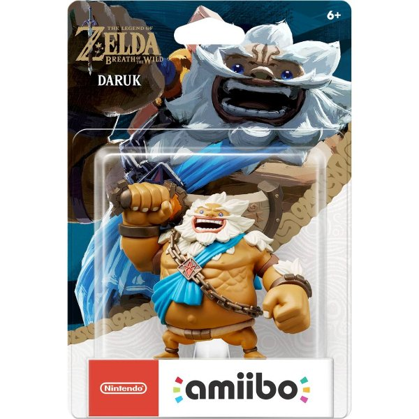 Amiibo Daruk (Zelda Breath of the Wild)