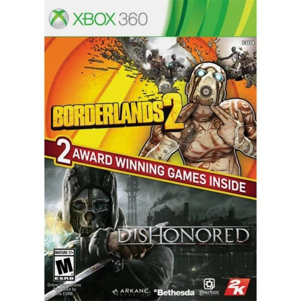 Borderlands 2 & Dishonored Bundle - Xbox 360