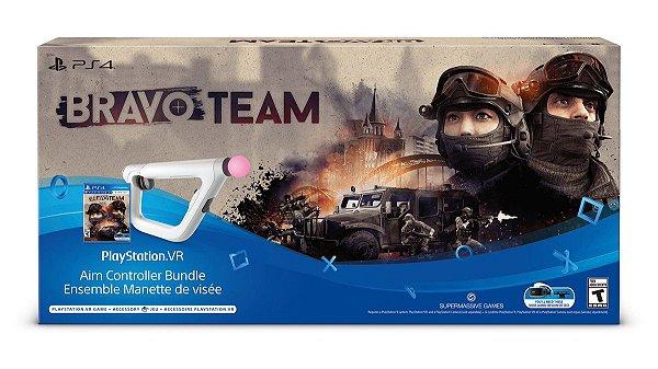 PSVR Aim Controller Bravo Team Bundle - PS4 VR