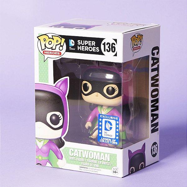 Funko Pop DC Comics 136 Catwoman Exclusive