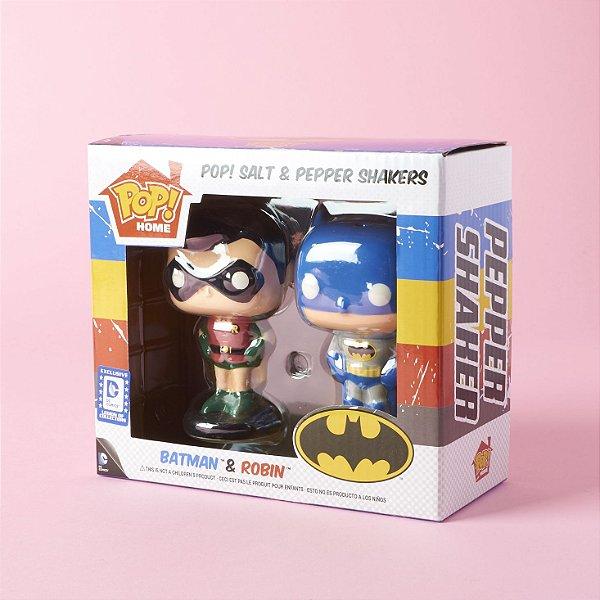 Funko Home Batman and Robin Salt/Pepper Shakers (Saleiro e Pimenteiro)