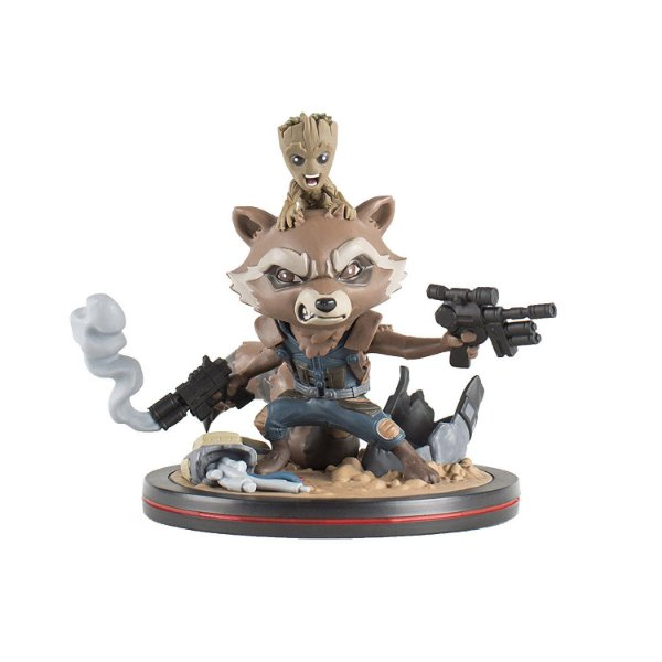 Guardians of the Galaxy Rocket & Groot Q-Fig Diorama QMx