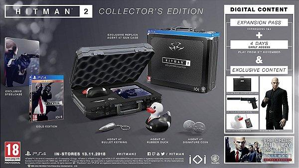 Hitman 2 Collectors Edition - PS4