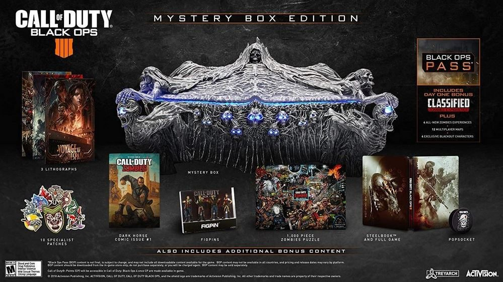 Call of Duty Black Ops 4 Mystery Box Collectors Edition - Xbox One