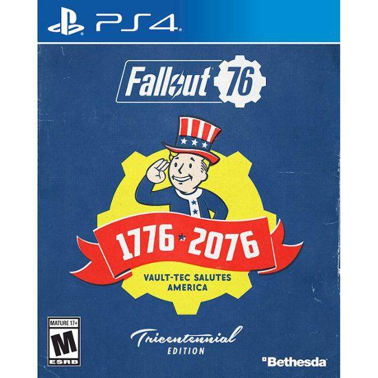 Fallout 76 Tricentennial Edition + Fallout Canvas Bag - PS4
