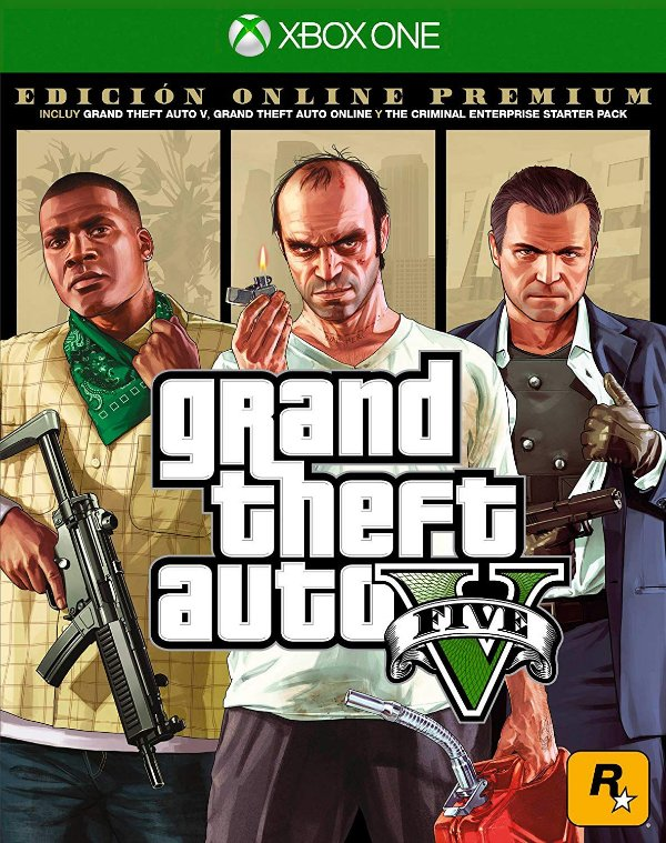 Grand Theft Auto V GTA 5 Premium Online Edition - X1