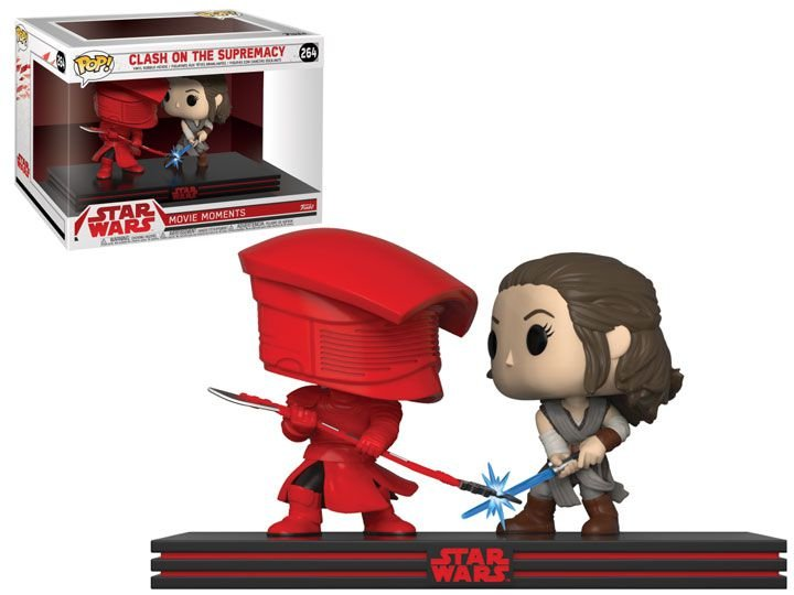 Funko Pop Star Wars The Last Jedi 264 Rey & Praetorian Guard