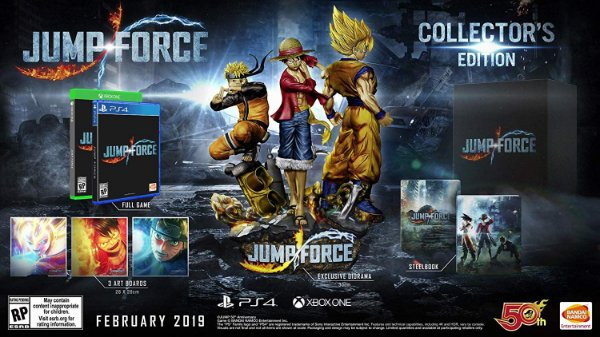 Jump Force Collectors Edition - PS4