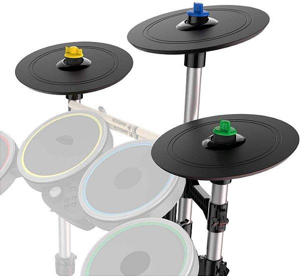 Rock Band 4 Pro Cymbals Expansion Drum Kit Pratos Bateria