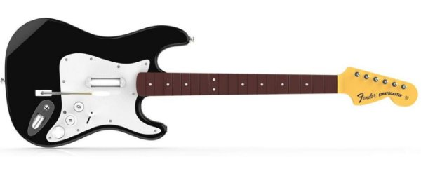 Rock Band 4 Wireless Fender Stratocaster Guitar Controller - PS4