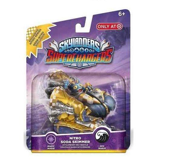 Skylanders SuperChargers Nitro Soda Skimmer Exclusive