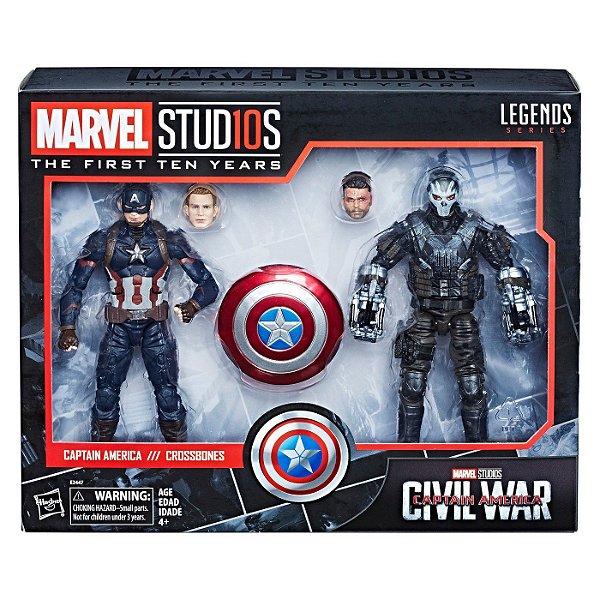 Marvel Captain America Civil War Captain America Crossbones 2pk