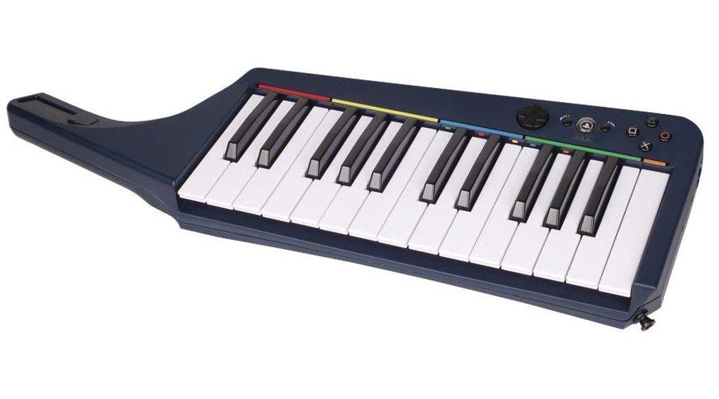 Teclado Rock Band 3 Wireless Keyboard - PS3