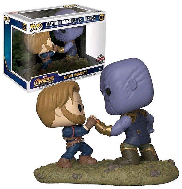 Funko Pop Avengers Infinity War 698 Captain America vs. Thanos