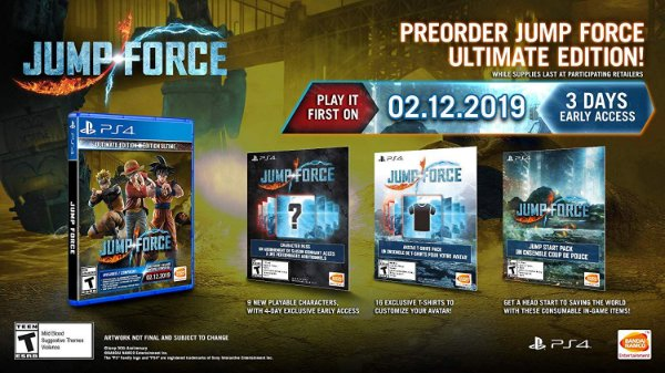 Jump Force Ultimate Edition - PS4
