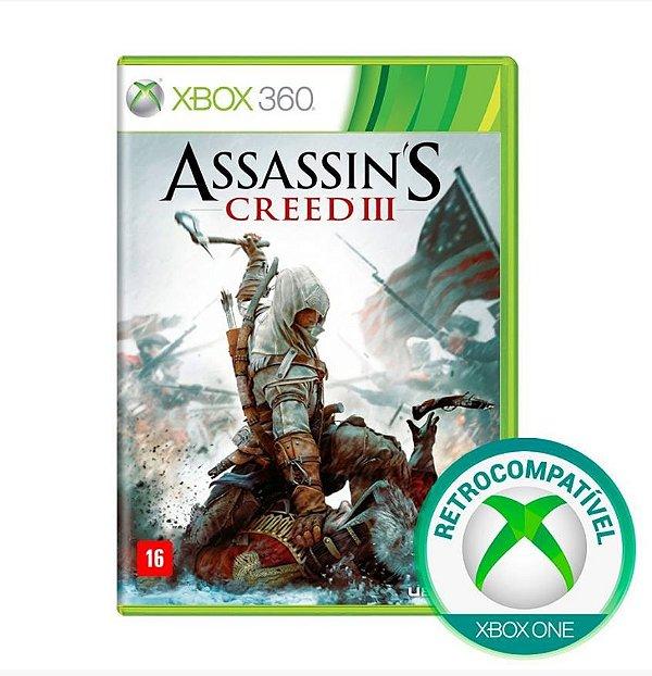 Assassins Creed III 3 - Xbox 360 / Xbox One