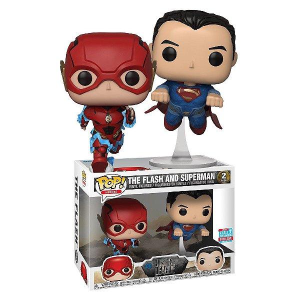 Funko Pop DC Justice League Flash & Superman 2-Pack