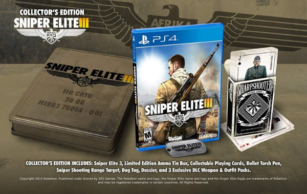 Sniper Elite 3 Collectors Edition - PS4