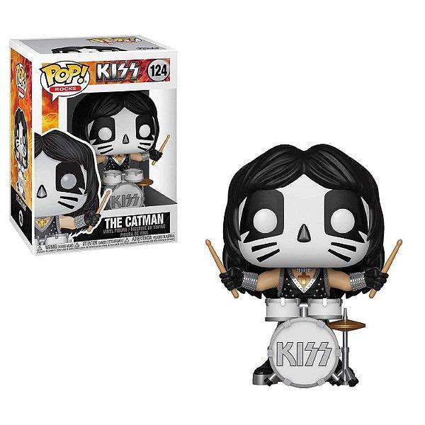 Funko Pop Rocks Kiss 124 The Catman