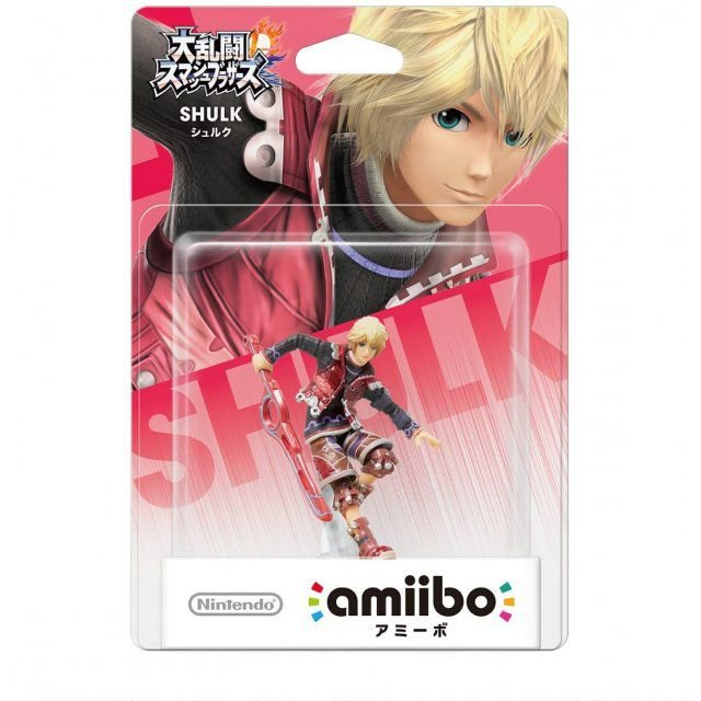 Amiibo Shulk Super Smash Bros Series
