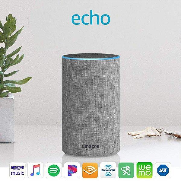 Amazon Echo 2nd Gen. Smart Speaker C/ Alexa - Gray