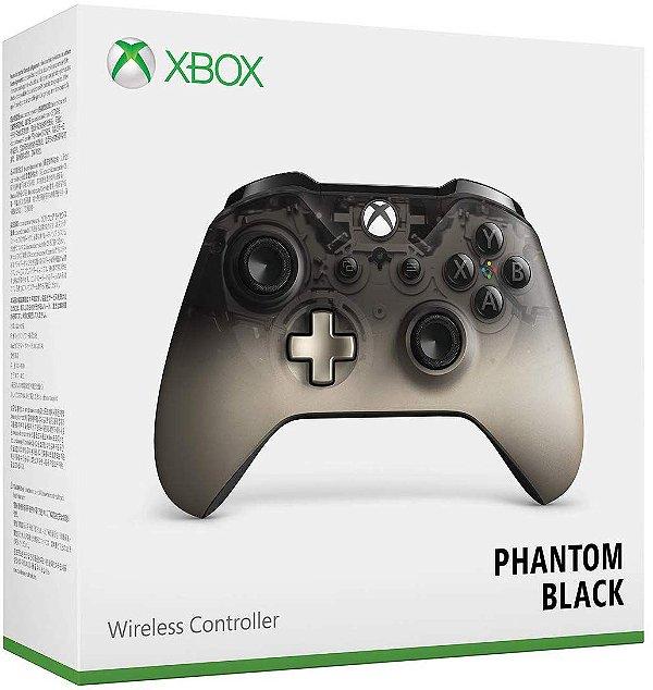 Controle Xbox Wireless Phantom Black Special Edition - Xbox One / PC