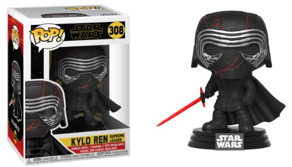 Funko Pop Star Wars Episode 9 Rise of Skywalker 308 Kylo Ren