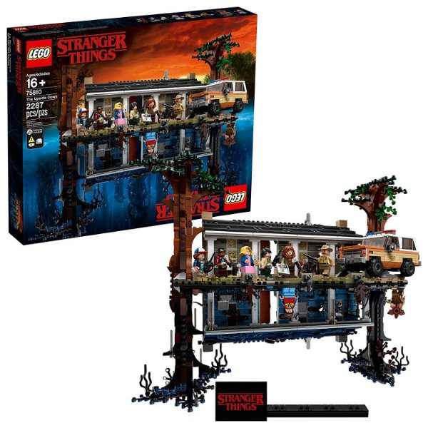 LEGO Stranger Things The Upside Down 75810 Building Kit 2.287 Peças