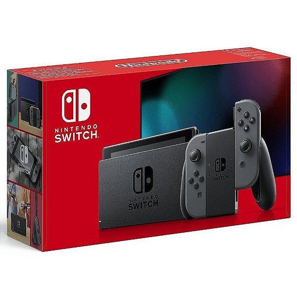 Console Nintendo Switch New Battery Model Gray - Cinza