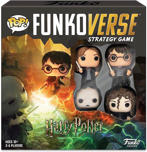 Funko Pop Funkoverse Strategy Game Harry Potter Base Set - Inglês