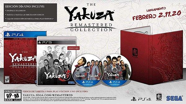 Yakuza Remastered Collection Edition - PS4