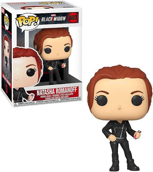 Funko Pop Marvel Black Widow 603 Natasha Romanoff