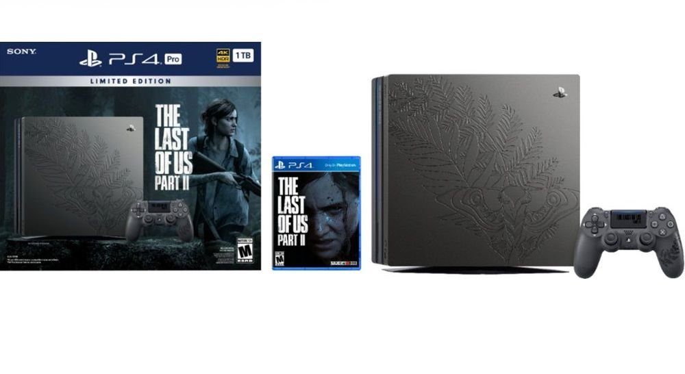 Console PlayStation 4 Pro 1TB Limited Edition The Last of Us Part ll