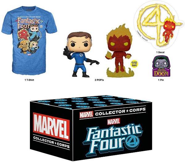 Funko Marvel Collector Corps Box Fantastic Four - XL