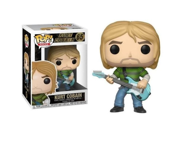 Funko Pop Rocks 65 Kurt Cobain Nirvana