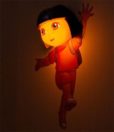 Luminária Dora Aventureira 3d Light Fx