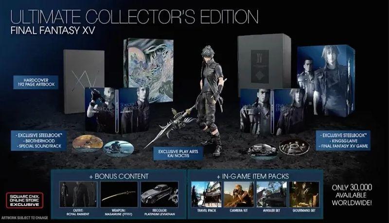 Final Fantasy XV Ultimate Collectors Edition - Ps4