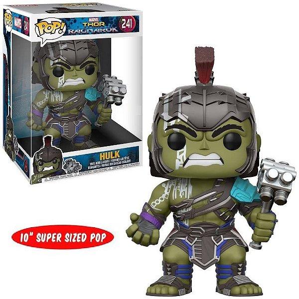 Funko Pop Thor Ragnarok 241 Hulk Gladiador Supersized 27cm