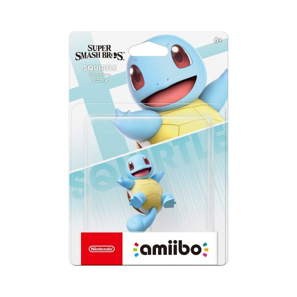 Amiibo Squirtle Pokemon Super Smash Bros