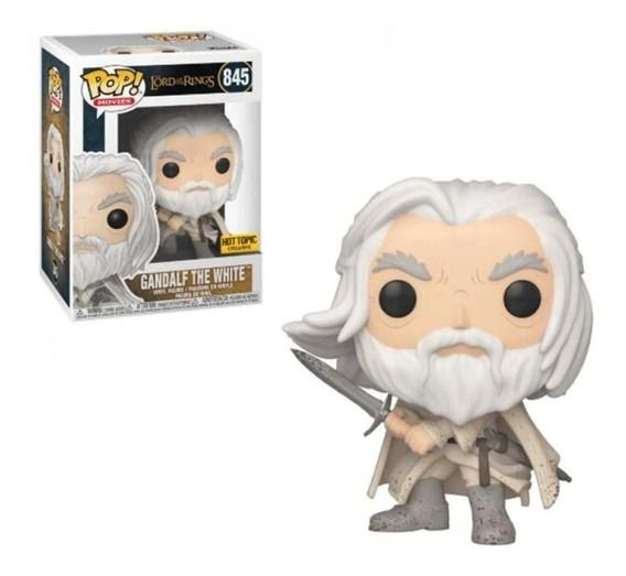 Funko Pop Lord of the Rings 845 Gandalf the White Exclusive