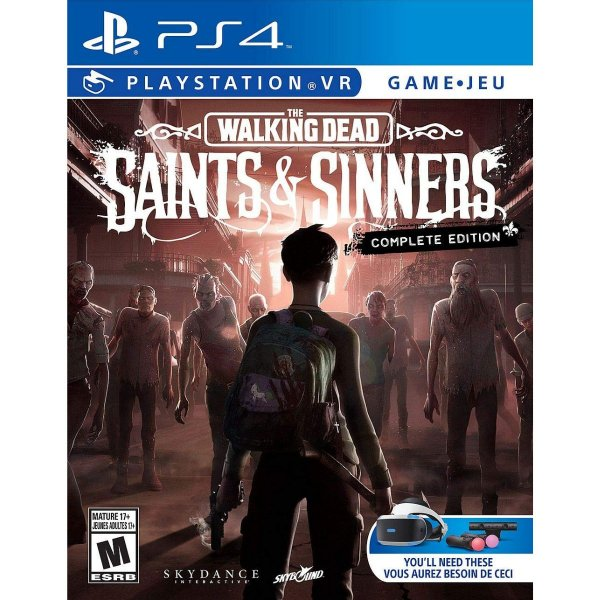 The Walking Dead Saints & Sinners The Complete Edition VR - PS4 VR