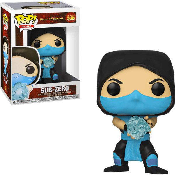 Funko Pop Mortal Kombat 536 Sub-Zero
