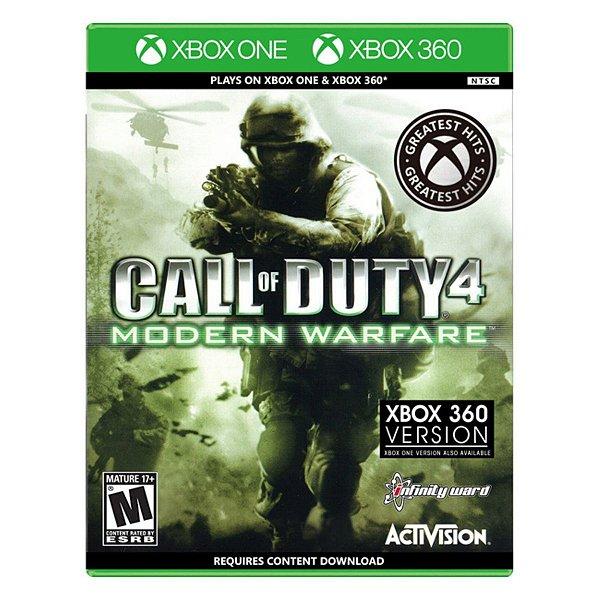 Call of Duty 4 Modern Warfare - Xbox One / Xbox 360