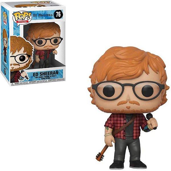 Funko Pop Rocks 76 Ed Sheeran