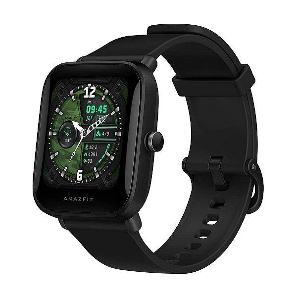 Relógio Smartwatch Xiaomi Amazfit Bip U Pro Preto