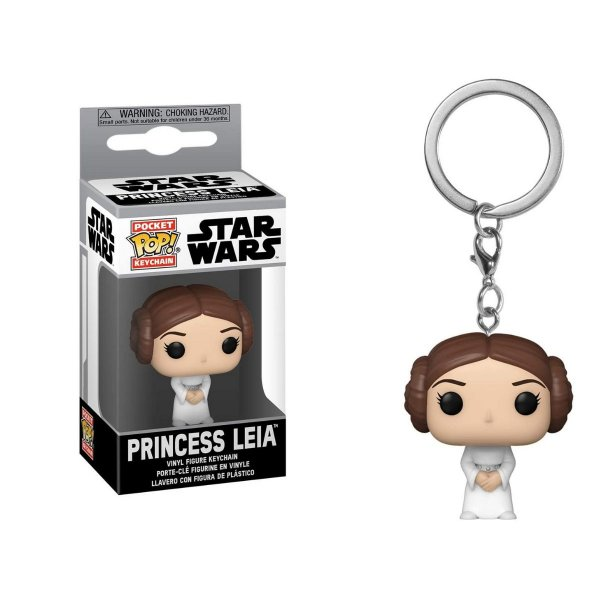 Chaveiro Funko Pocket Star Wars Princess Leia